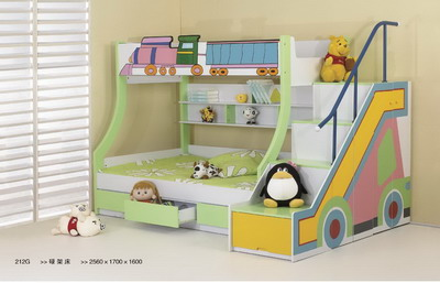 Sweet Bunk Beds for Kids