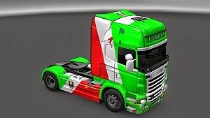 Scania R Italy skin mod