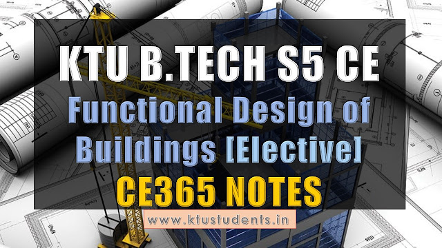 ktu civil s5 note cs365