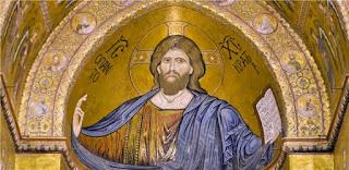 Cristo Pantocrator nell'abside del duomo di Monreale