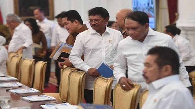 Ini Isi Obrolan Grup WhatsApp Menteri-menteri Usai Dimarahi Jokowi