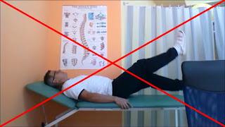 ćwiczenie nożyce pionowe mięśnie brzucha