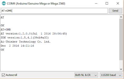 Cara Konfigurasi ESP8266 Arduino Mega 2560