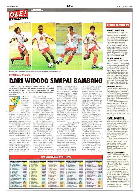 REGENERASI PEMAIN DARI WIDODO SAMPAI BAMBANG