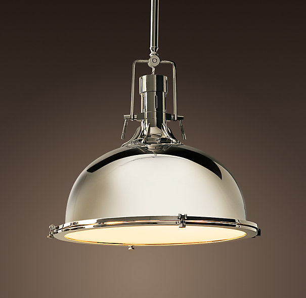 Copy Cat Chic: Restoration Hardware Harmon Pendant