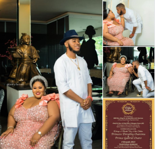"""""""What seemed impossible, my God did it twice"""" Differently-abled woman in wheelchair says as she announces her wedding"""