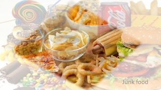difference between healthy food and junk food essay
