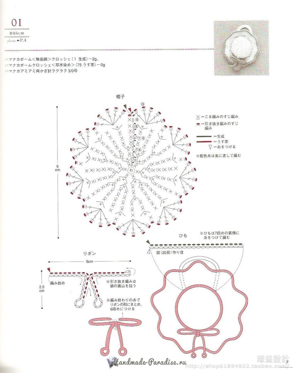 Вязание сумок из полиэтиленовой пряжи. Японский журнал (6)