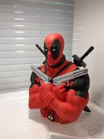 Toy Fair 2020 UK Monogram Bust Banks Marvel Comics Deadpool