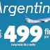 Volá con Aerolíneas Argentinas | Tarifas Desde $499 Por Tramo