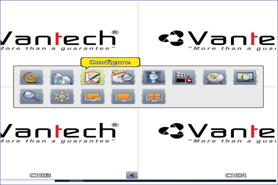 Hướng dẫn cấu hình đầu ghi Vantech VP-464H265+