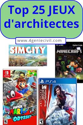Top jeux d'architecture