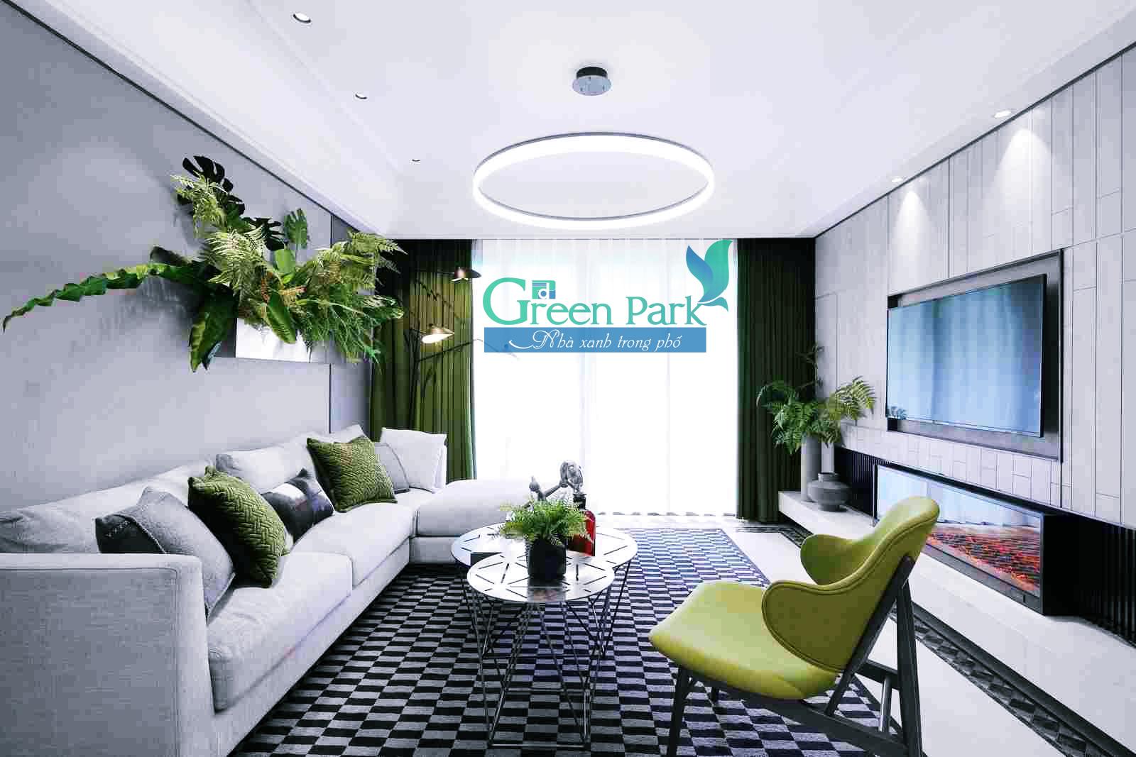 Thiết kế căn hộ PD Green Park