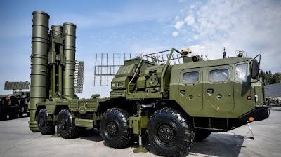 Sistem Pertahanan Udara S-400 Rusia