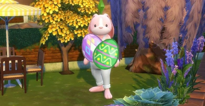 How to collect all Decorative Eggs in The Sims 4