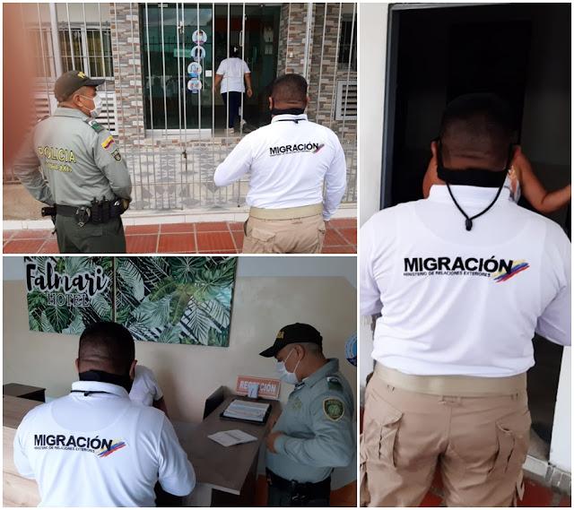 hoyennoticia.com, Policía y Migración en Maicao adelantan controles migratorios en hoteles