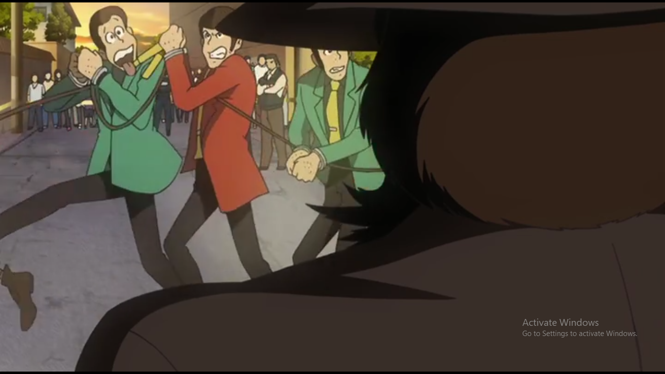 Anime Movie Lupin III Green Vs Red Subtitel Indonesia