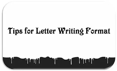 tips for letter writing format