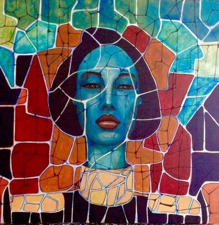 Французский художник. MargO - Sylvaine Laurent
