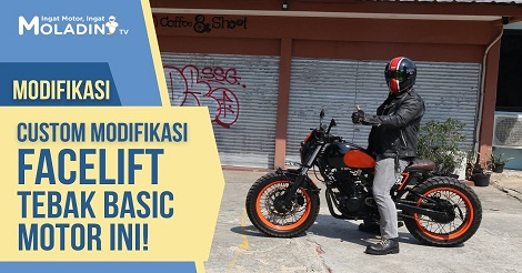 Modifikasi Motor di Moladin