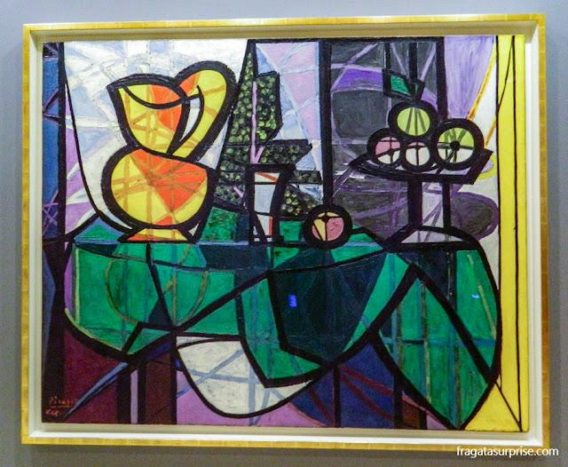 Vaso e Fruteira, de Pablo Picasso, no Museu Guggenheim de Nova York
