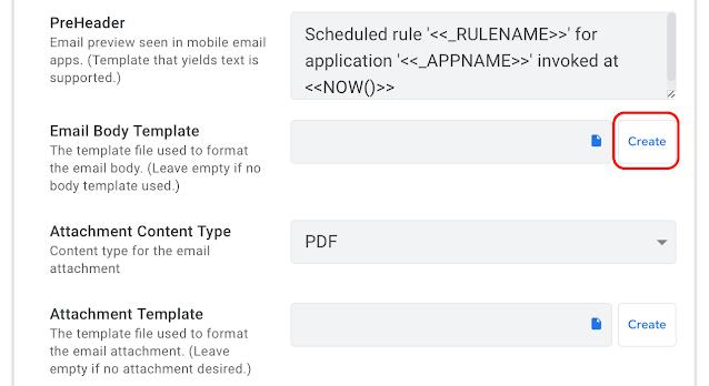 AppSheetで在庫管理、メール送信用テンプレートを作成する