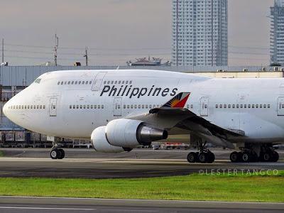 Philippine Airlines Boeing 747-400