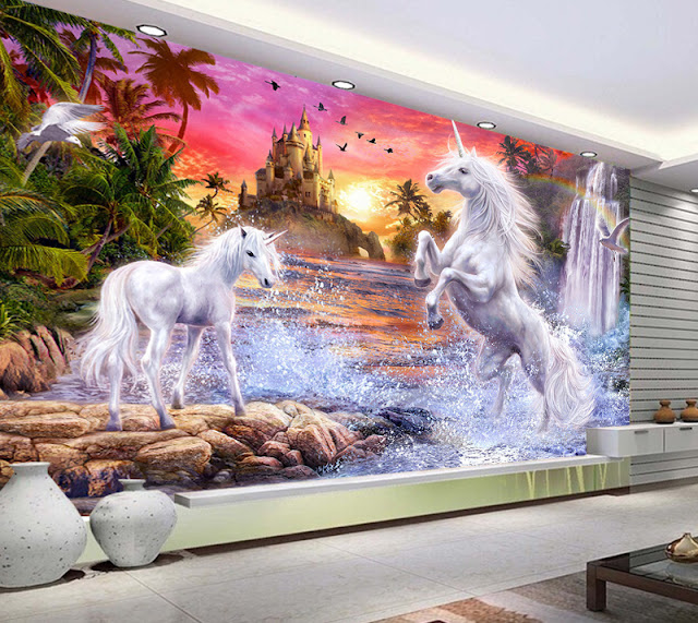 http://www.photowall.fi/photo-wallpaper/unicorn-waterfall-sunset