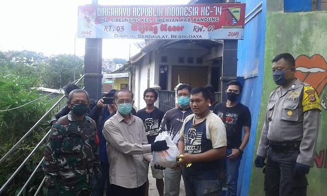 JBN Salurkan Donasi Kepada Warga Korban Longsor di Cimenyan Bandung