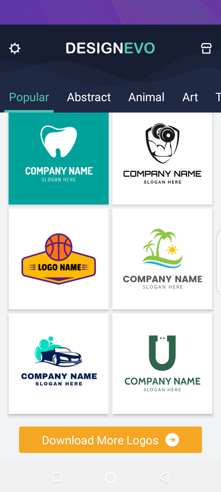 designevo logo maker apk
