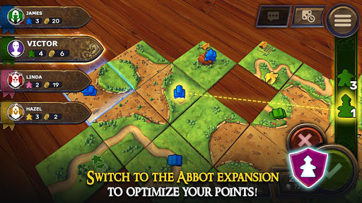 Carcassonne: Official Board Game -Tiles & Tactics APK MOD