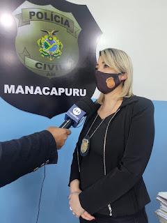 Delegada Roberta Merly (Foto: Divulgação/ PC-AM)