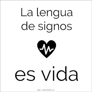 La lengua de signos es vida