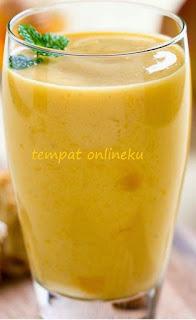 resep smoothie pisang & mangga