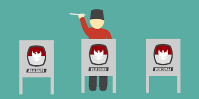 Panduan memilih di setiap Pemilu