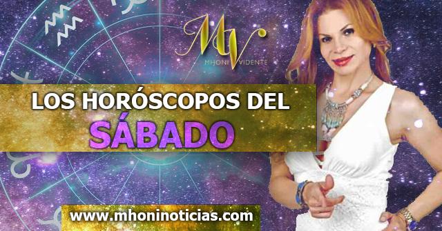 Los Horóscopos del Sábado 26 de DICIEMBRE del 2020 - Mhoni Vidente