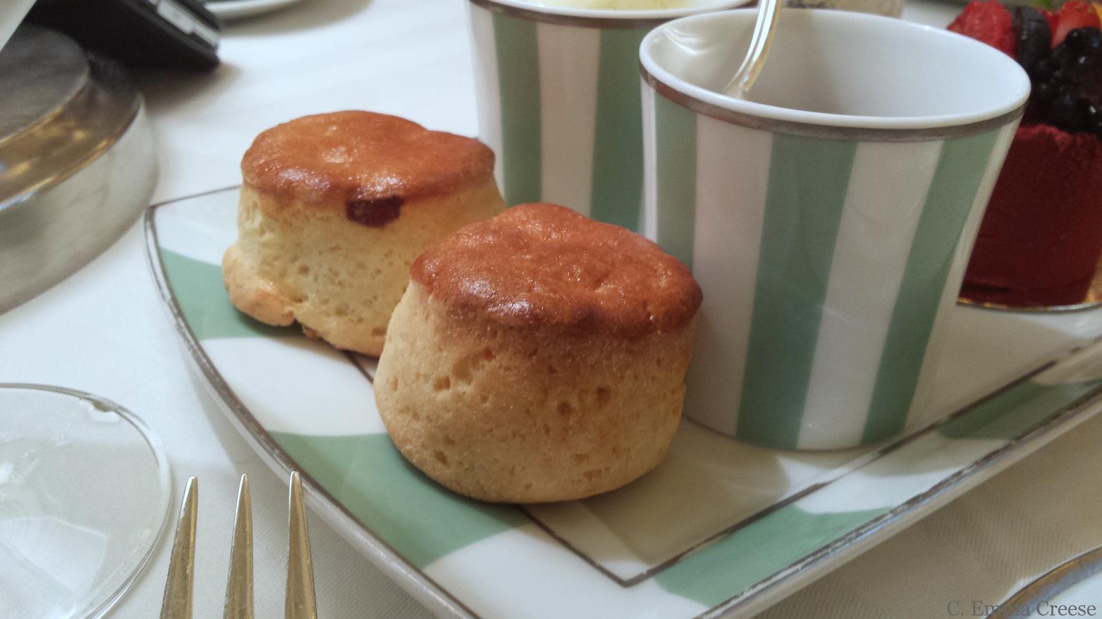 Claridges Gluten Free Afternoon Tea Scones