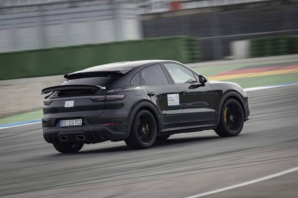 Novo Porsche Cayenne de alta performance conquista recorde em Nürburgring