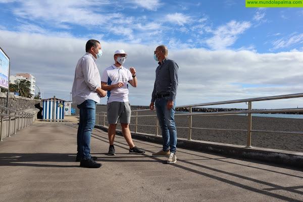 Santa Cruz de La Palma dota su playa de un nuevo servicio de Mantenimiento y Dinamización
