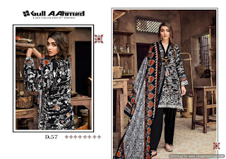 Original lawn pakistani Suits Gull a Ahmed vol 6