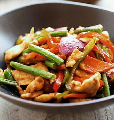 Resepi Paprik Ayam Ringkas