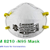 3M 8210 -N95 Mask Health Care for Coronavirus