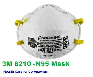 3M-8210-N95 Healthcare Mask for Corona-Virus