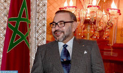 SM le Roi félicite le Président ukrainien à l'occasion de la fête nationale de son pays