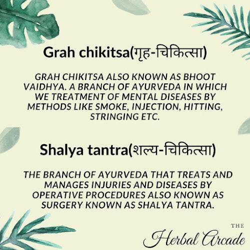 Ashtang ayurveda (Bhoot Vidya and Shalya Tanta) | Ashtang Ayurveda