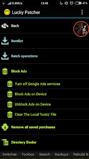 cara block ads di android