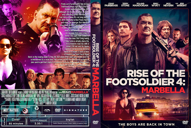 Rise of the Footsoldier 4: Marbella DVD Cover