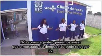 video%2Bacs%2Brj Veja o Vídeo criativo e animado das ACS do RJ Sobre o combate a Dengue: