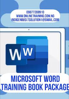 Microsoft Word Training For Nigerians