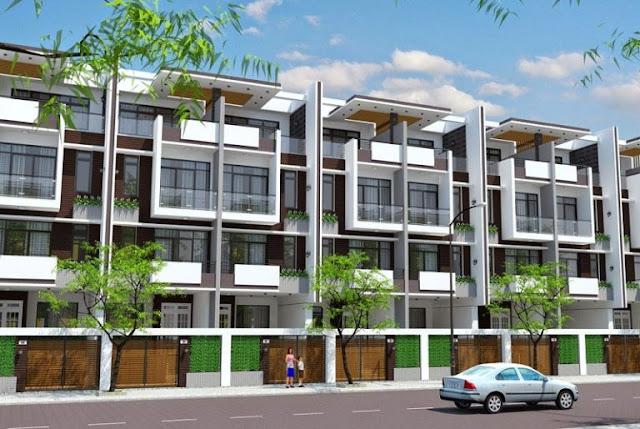 Mẫu thiết kế liền kề dự án 82 Nguyễn Tuân